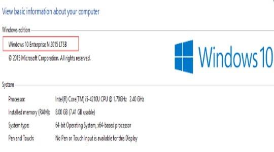 Windows 10 Enterprise LTSB оригинальные образы фото 3