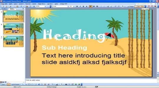 Как сделать фон в презентации фото 1