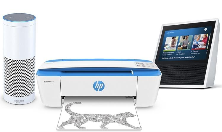 Принтер HP голосовой ассистент