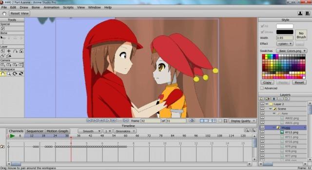 Программы для анимации 2d фото 2