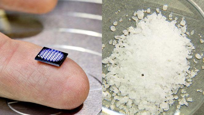 ІВМ показала процессор, размер которого равен кристаллу соли фото 1