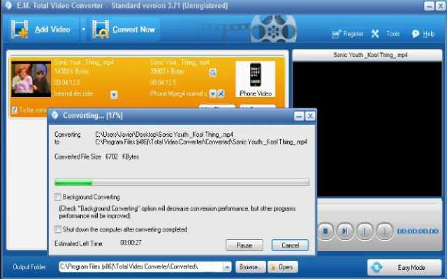 Программа для конвертации видео в другой формат