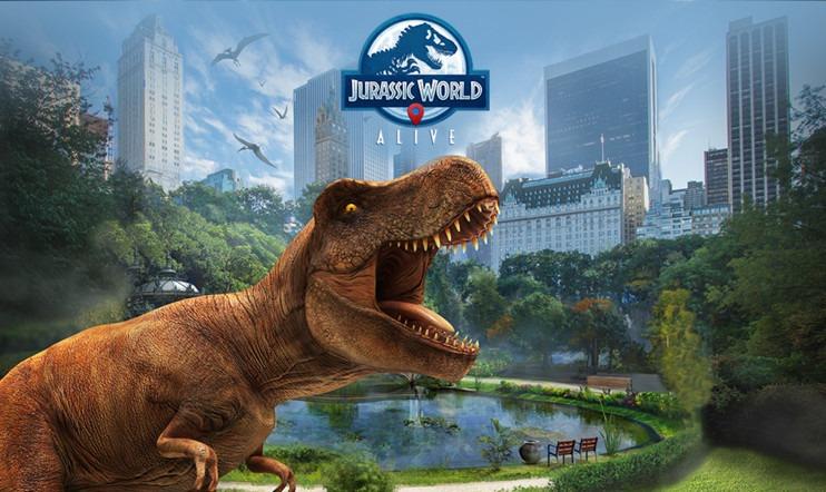 Состоялся релиз Jurassic World Alive на мобильных платформах Android и iOS