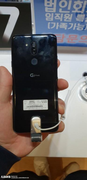Смартфон LG G7 ThinQ фото 3