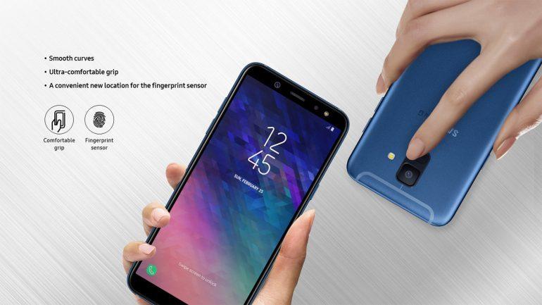 Смартфон Samsung Galaxy A6 и Galaxy A6+ фото 1