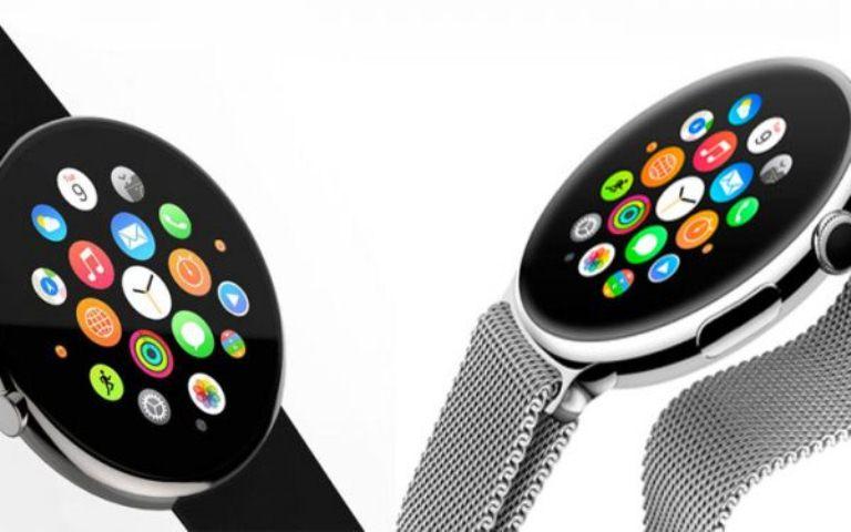 Apple круглый дисплей фото 1