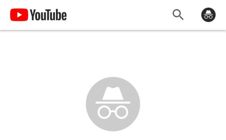 YouTube для Android режим инкогнито
