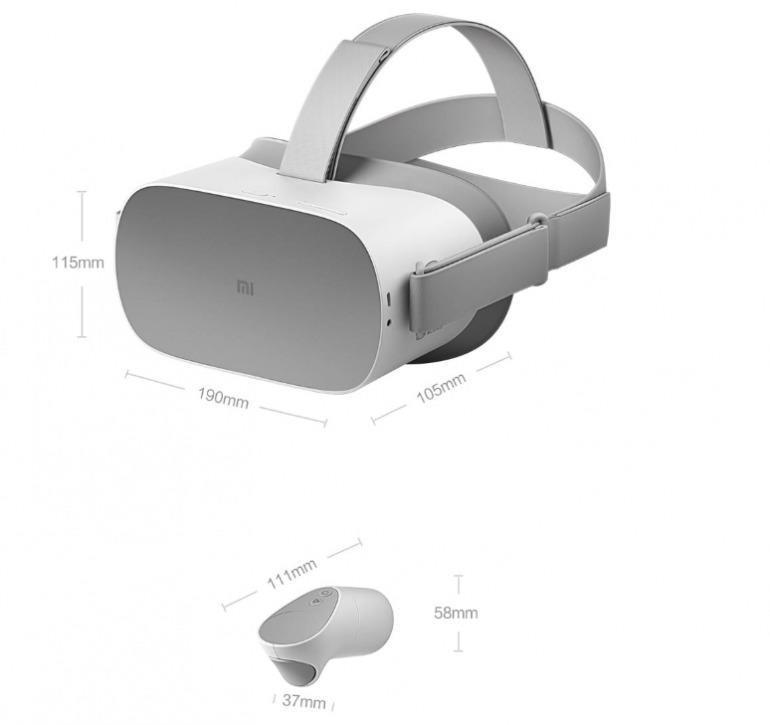 VR-гарнитура Xiaomi Mi VR Standalone фото 3
