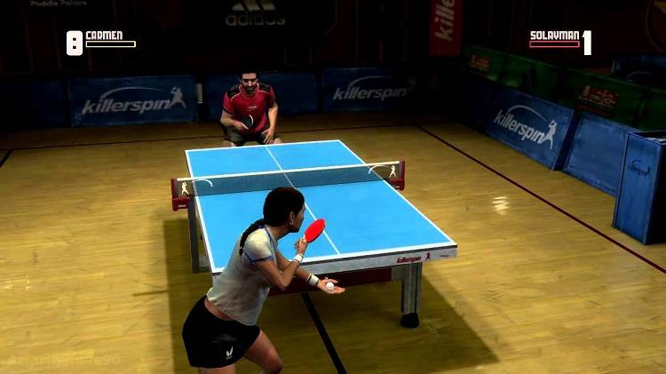 Игра Rockstar Games presents Table Tennis