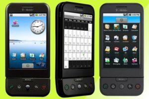 Первый смартфон на Android фото 1
