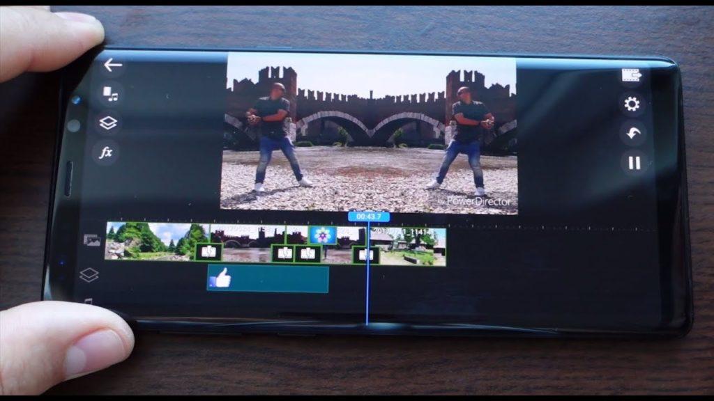 Программа для монтажа видео на Андроид