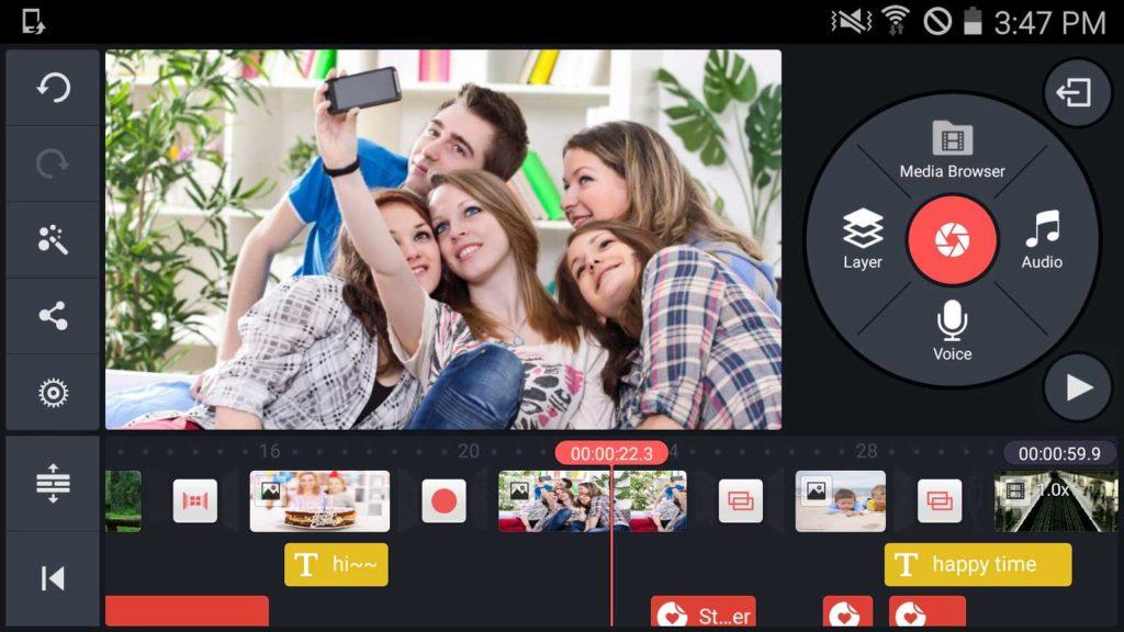 Программа для монтажа видео на Андроид фото 2
