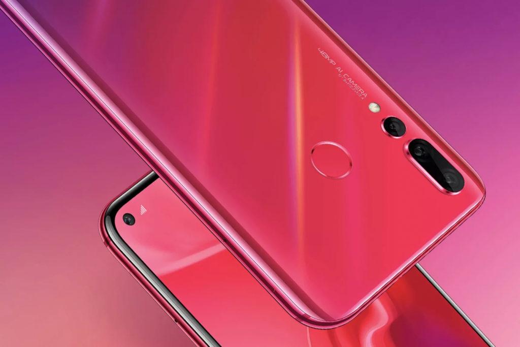 Смартфон Huawei Nova 4 фото 3