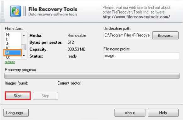 Программа для восстановления данных с флешки