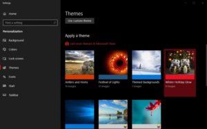 Windows 10 рождественская тематика фото 1