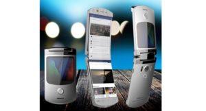 Гибкий смартфон RAZR фото 1