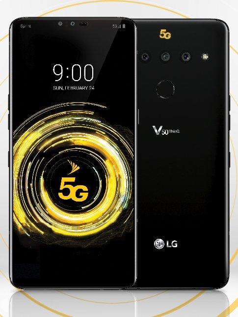 В Твиттере опубликован дизайн флагманского смартфона LG V50 ThinQ