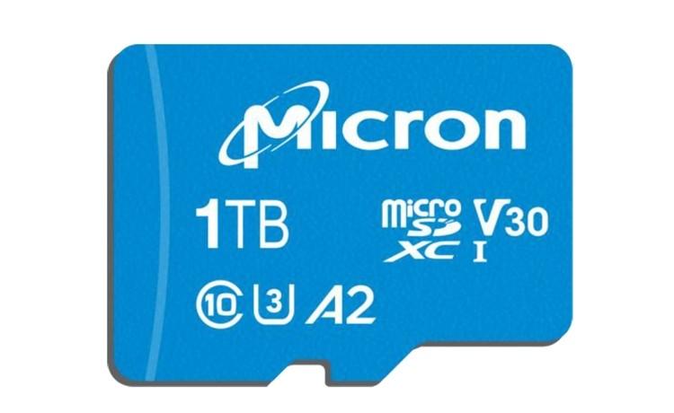 Micron microSD фото 2