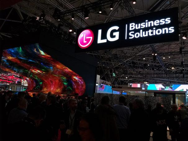 На выставке в Нидерландах компания LG представила прозрачные OLED-панели