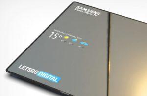 Samsung запатентовала смарт-телевизор с зеркальной поверхностью экрана