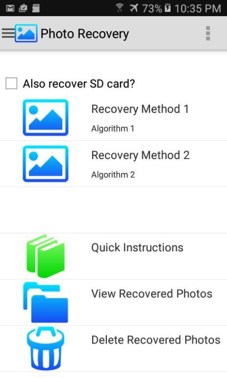 восстановить фото на андроид фото 1