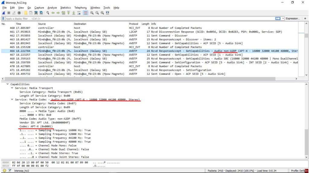 Поддержка технологии AptX фото 1