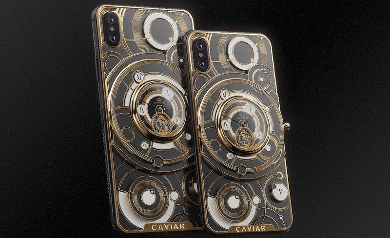 Первый iPhone с турбийоном выпущен российской компанией Caviar