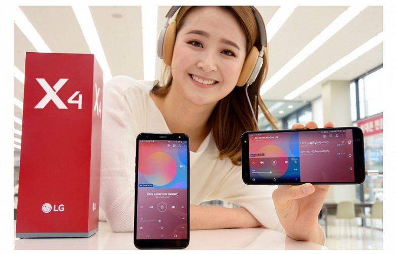 LG Х4 смартфон фото 2