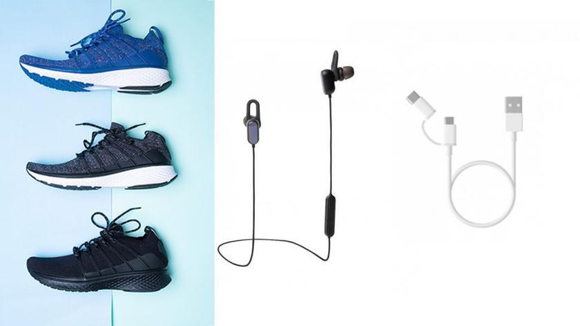 Xiaomi Mi Sports Shoes 2 и Mi Sports Bluetooth
