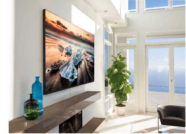 Телевизор QLED Samsung с искусственным интеллектом фото 2