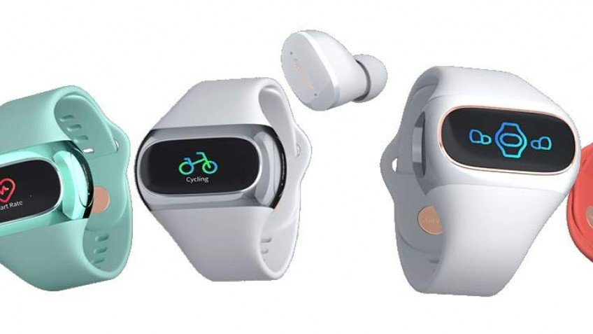 Фитнес-трекер с зарядкой для наушников фото 2