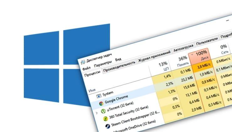 Диск загружен на 100% в Windows 10: причины и советы по решению проблем