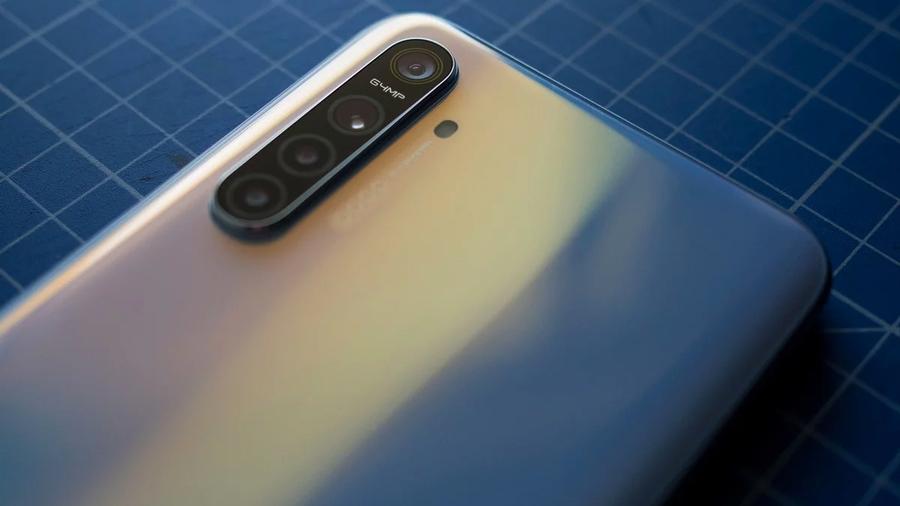 Realme смартфон с 64 мп камерой