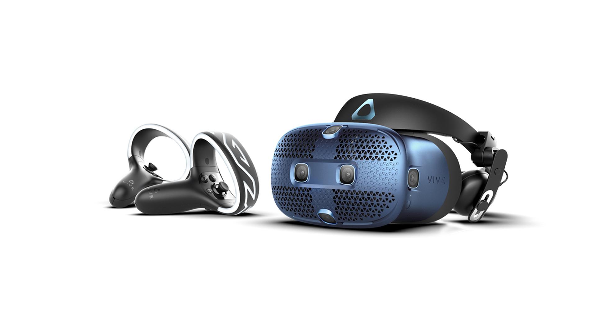В России начинаются продажи VR-шлема НТС Vive Cosmos
