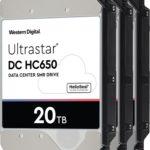 Western Digital начинает пробную отгрузку жёстких дисков емкостью 20Тбайт