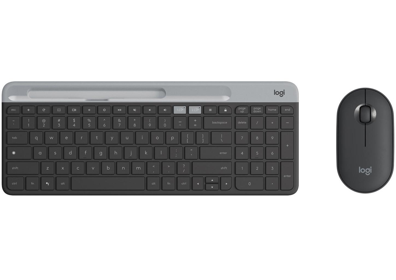 Logitech беспроводная мышь и клавиатура