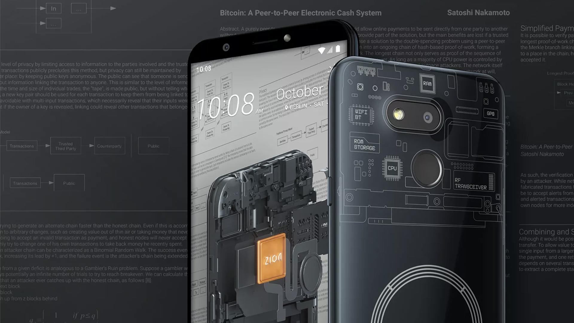 Бюджетный блокчейн-смартфон Exodus 1s HTC