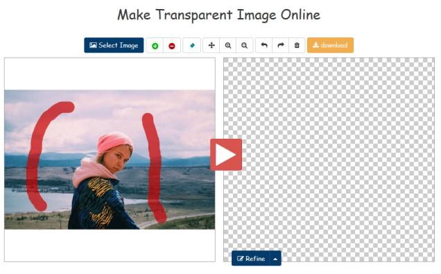 Вырезать фон с фото онлайн фото 2
