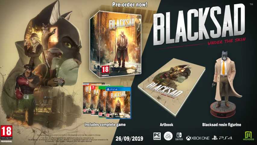 Игра Blacksad: Under the Skin