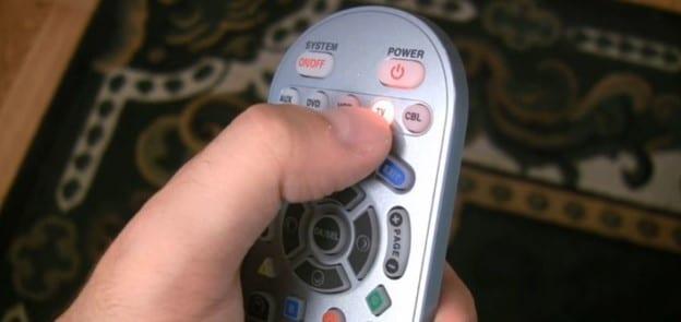как запрограммировать универсальный пульт для телевизора