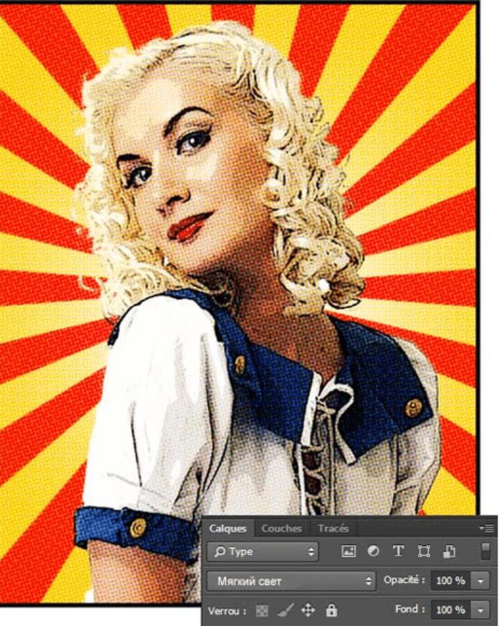 как сделать комикс в Photoshop фото 2
