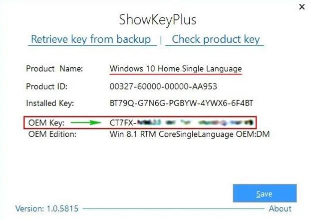 программа для просмотра ключа Windows 10 фото 1