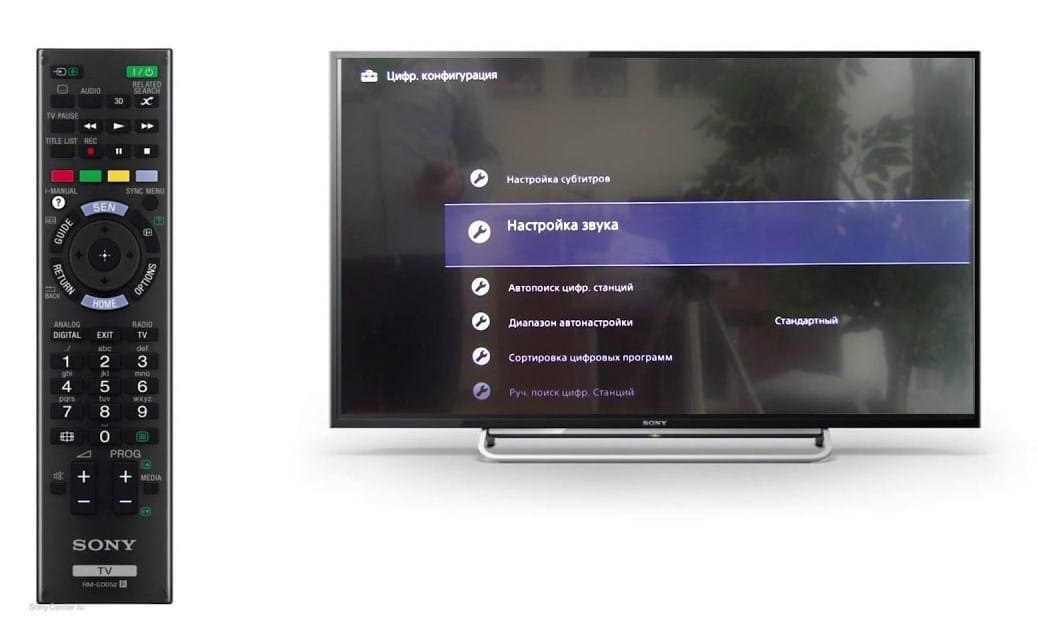 Настройка телевизора Sony Bravia фото 3