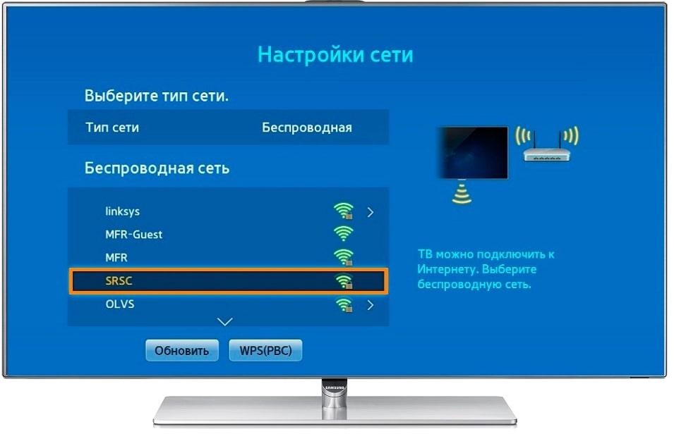 телевизоре сеть без доступа к интернету