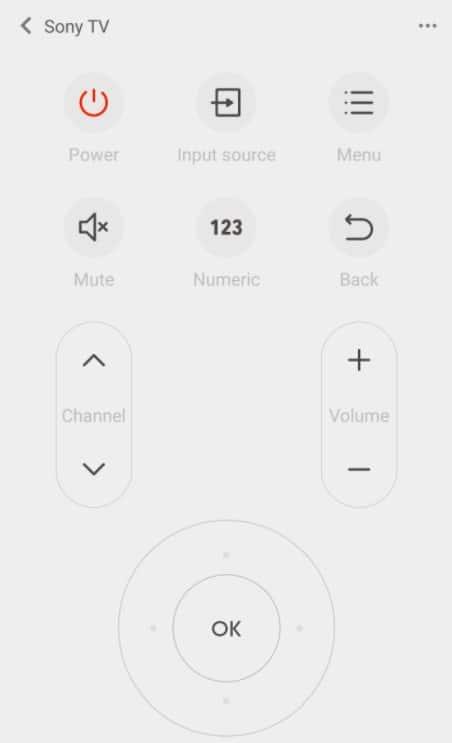Mi Remote controller
