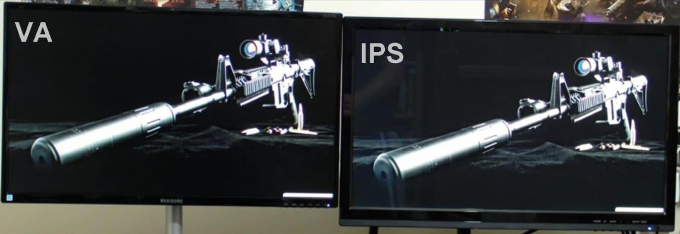 Что лучше IPS или VA